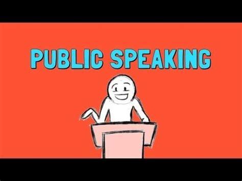 Essays on fear of public speaking
